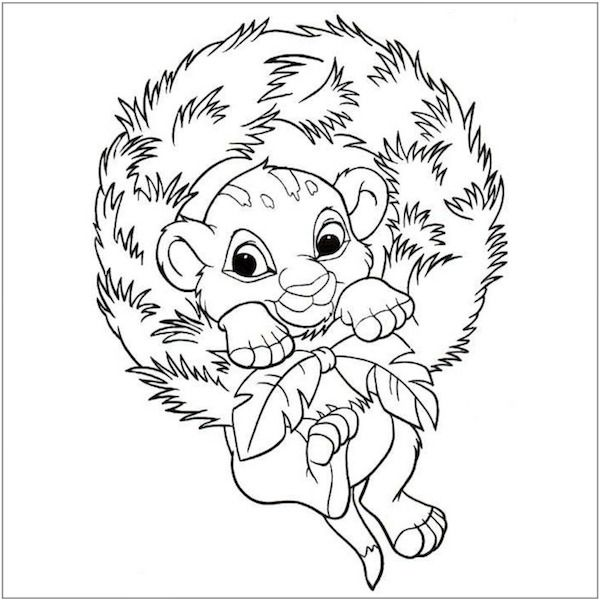 102 best images about Christmas Coloring Pages on Pinterest