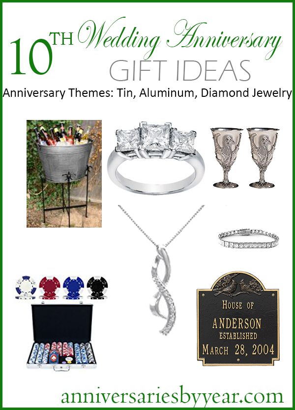 1000 ideas about 10th anniversary gifts on pinterest for 10th wedding anniversary decoration ideas