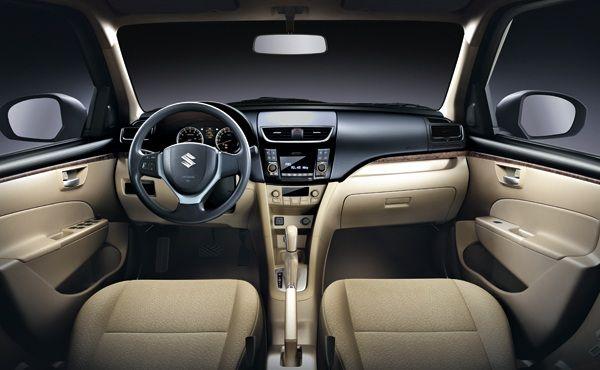 Suzuki Swift DZire sedan - interior