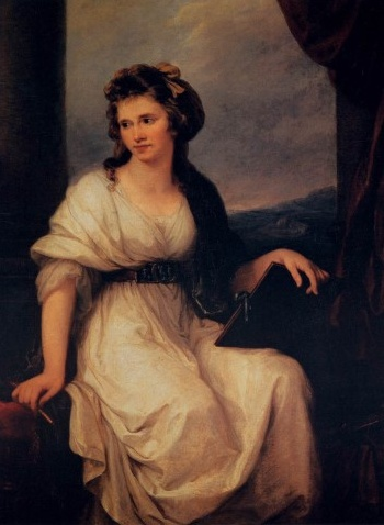 안젤리카 카우프만    화가 안젤리카 카우프만의 자화상. 18세기 가장 성공한 여성 화가중 한명이라고 한다. 그녀는 또한 매력적이어서 많은 남성 화가들을 셀레게 했다고 한다. 결혼도 두번이나 했다고...