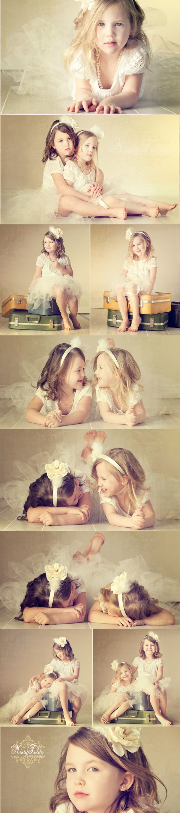 I love this sweet sister vintage session. Family, sibling photography