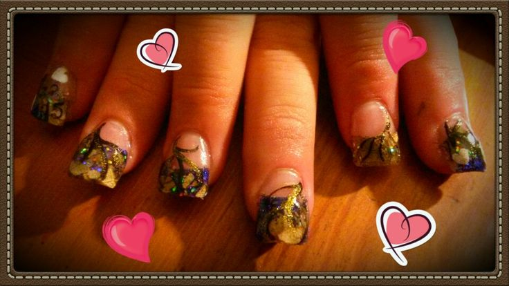 Purple camo nails so happy with them they look beautiful!!!!! Hope the happy bride has a wonderful wedding