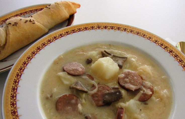 Moravian Sauerkraut Soup aka Zelňačka is Perfect for a Chilly Night