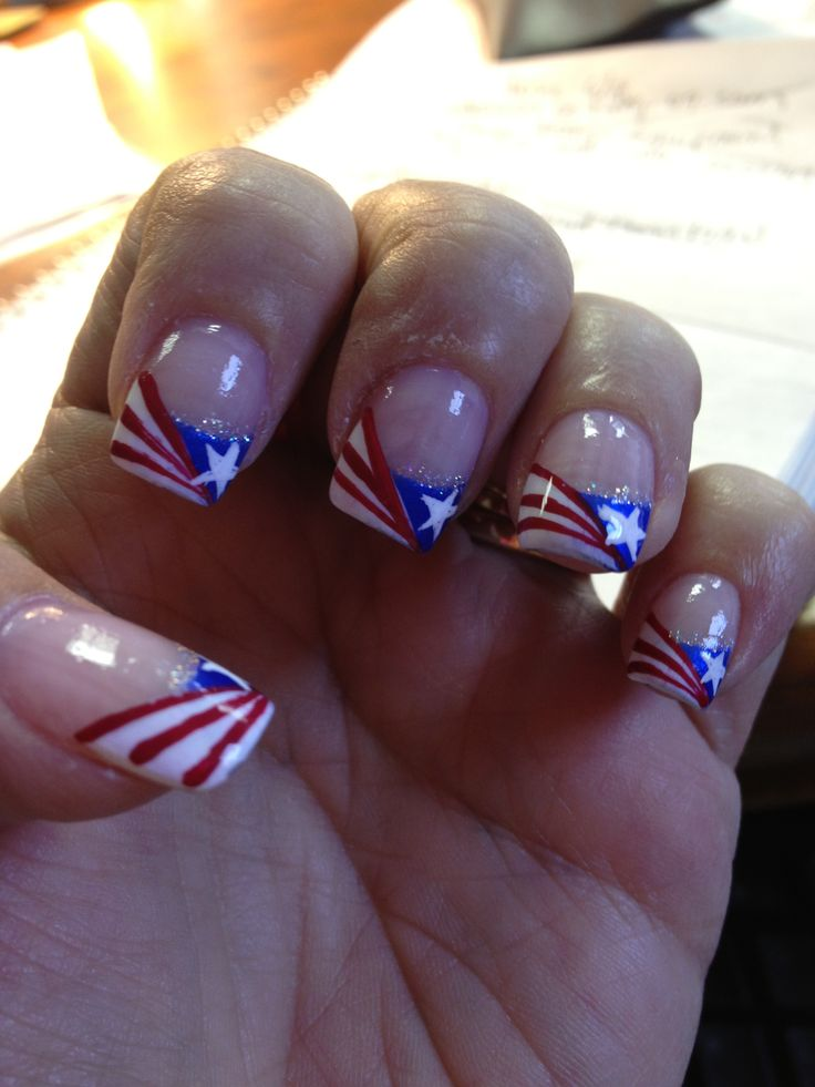 simple 4th of july nail designs