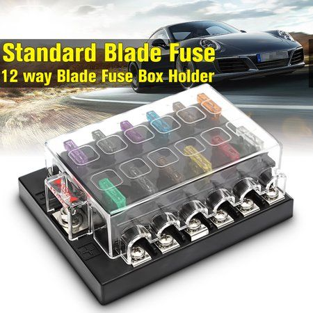 Bladefuse Boataccessorie Fusebox Fuse Boat Carsparepart Circuitfusebox Holder Blocks Fuseholder 32v 12 Way Terminals Circuit Car Boat At Fuse Box Circuit Fuses