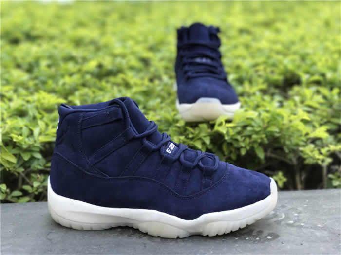 16d4c63b913b97 Men Air Jordan 11 Jeter Re2pect Basketball Shoes