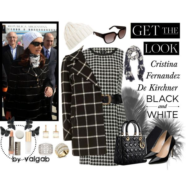 """GET THE LOOK: Cristina Fernandez de Kirchner, President of Argentina"" by val-gab on Polyvore"