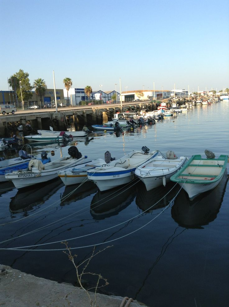 Doca de Olhão - Barcos de pesca desportiva e de recreio