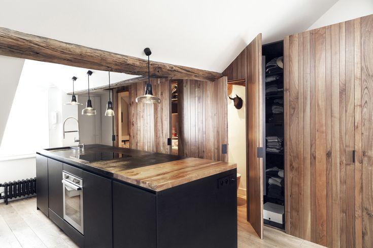 Margaux Beja & Thomas Pujol Paris appartment