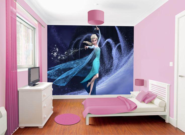Disney Frozen Wallpaper Design 5 Girls Room Pinterest