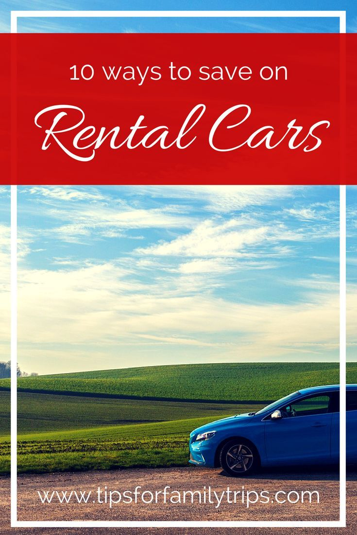 9 easy ways to find the best rental car prices
