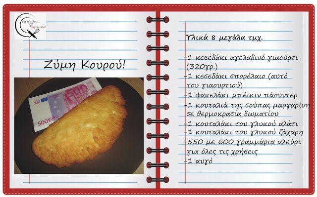 Θα σε κάνω Μαγείρισσα!: Ζύμη Κουρού!
