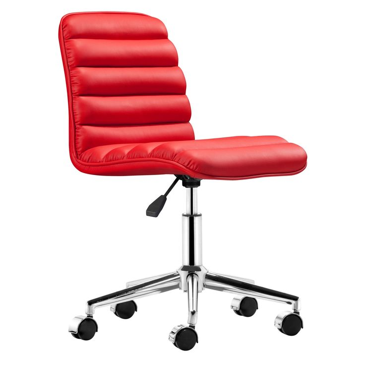 Red Desk Chair Modern