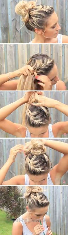 Excellent A messy bun is PERFECT for the beach, but here are a few more hairstyles you can try out this summer!  The post  A messy bun is PERFECT for the beach, but here are a ..