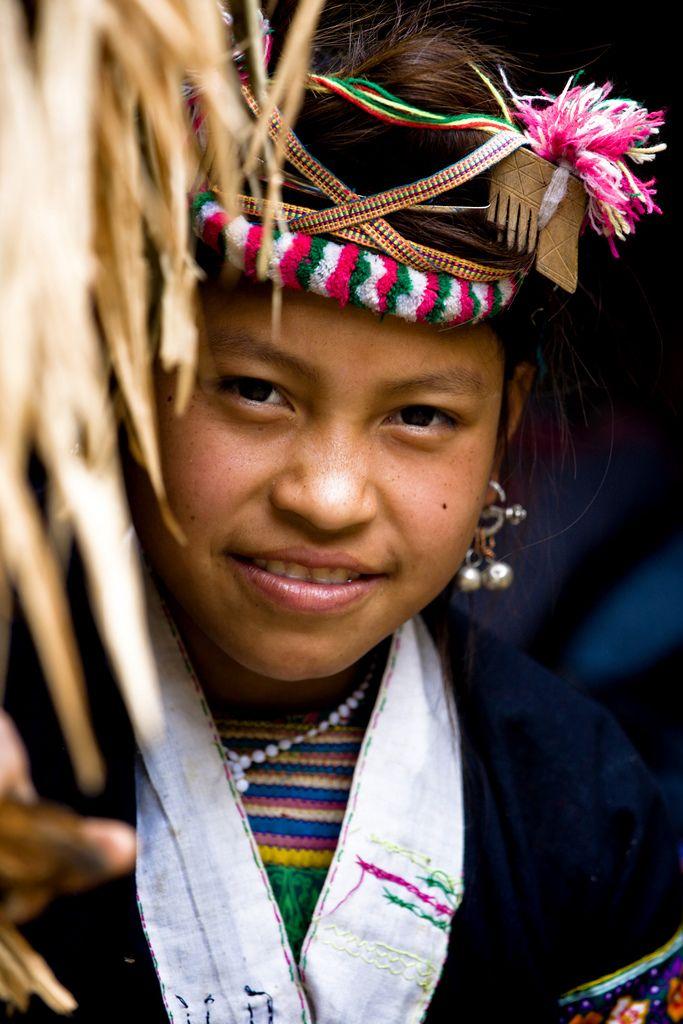 """Lahu Girl"" Luang Namtha,Laos 2008"