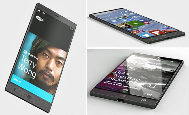 First alleged renders of the Microsoft Surface Phone appear - http://vr-zone.com/articles/first-alleged-renders-microsoft-surface-phone-appear/116257.html