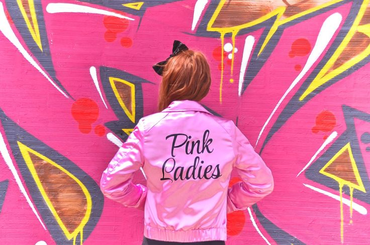 Grease Pink Ladies Les Roses Street Style