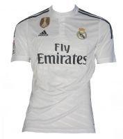 adidas Camiseta de Fútbol Wc Real H Jsy White #regalo #arte #geek #camiseta