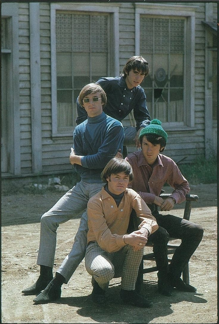 Hey, hey, we're the Monkees! Loved them so much, Daddy let me eat my dinner in front of the tv so I wouldn't miss the program.