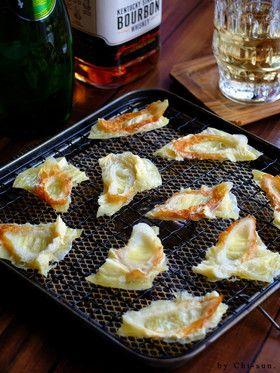 レンジで簡単☆羽根つきチーズ竹輪!