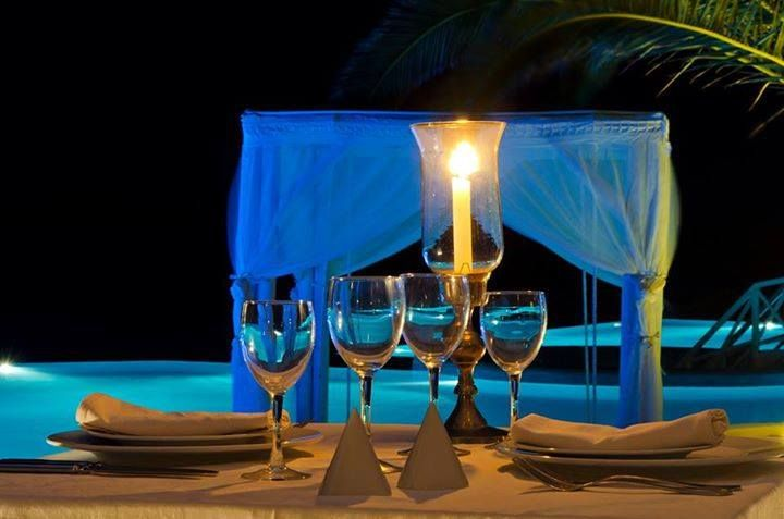 Intimate moments for you and your significant other...  A romantic candlelit #dinner under the stars at Saint John's atmospheric restaurants. A truly unique dining experience along with a wide range of haute cuisine and fine wines awaits you...  saintjohn.gr