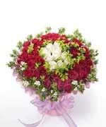 Toko Bunga Bandung Red Roses Hand Bouquet LUV011