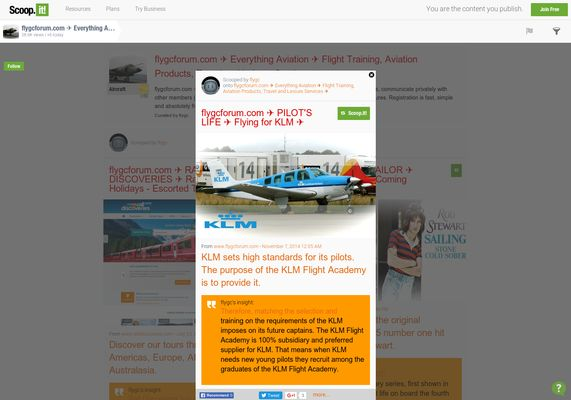 flygcforum.com ✈ PILOT'S LIFE ✈ Flying for KLM ✈