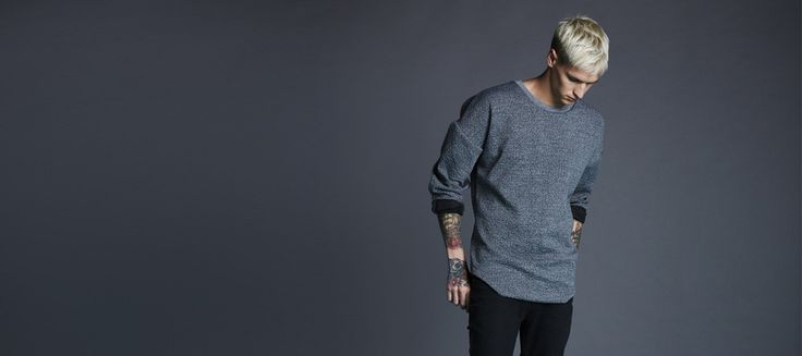 Ethical men's clothing, selected with style.