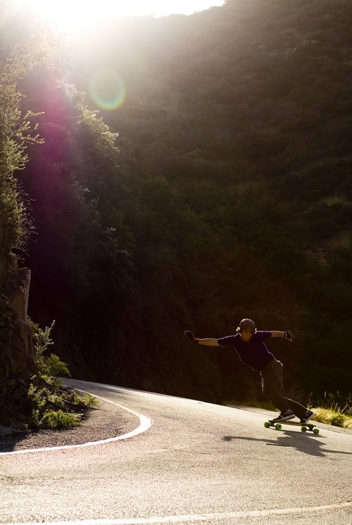 I will attempt to teach myself how to longboard in the summer. Should be interesting since I live on a dirt road.