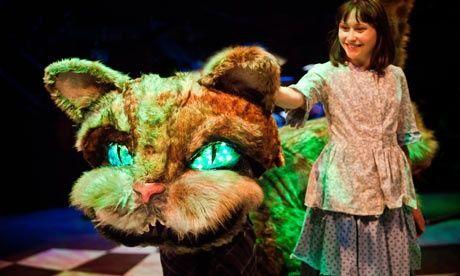 Alice in Wonderland. Hannah Edwards. New Vic,, Newcastle-under-Lyme. 2011