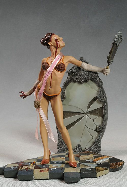 Seven Deadly Sins Pride, Glutony statues by Geek Toys