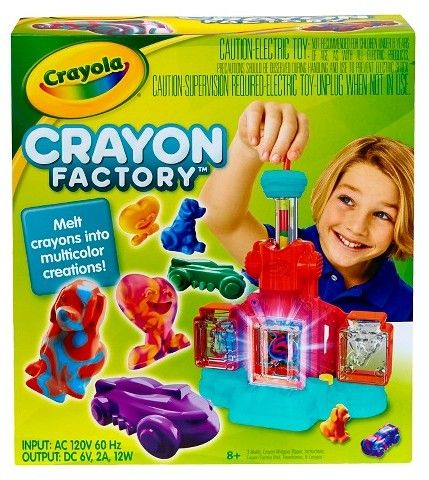Let kids make their own crayons in their own colors and shapes! My kids have spent hours using this!