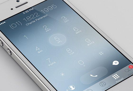 Phone Dialer UI