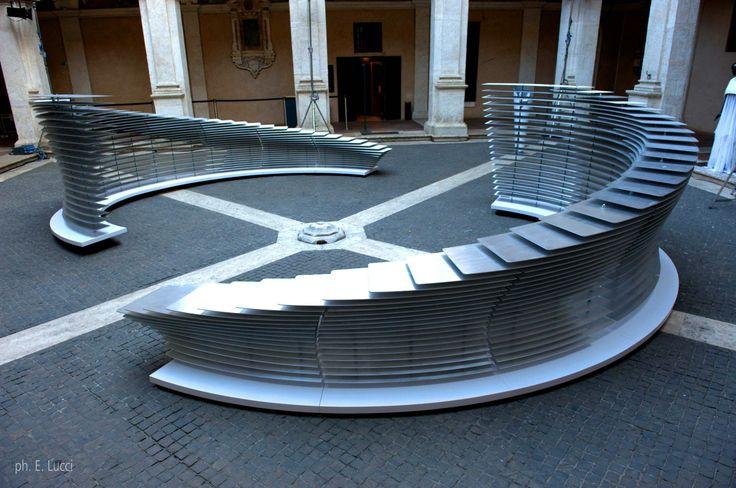 NU:S parametric installation_cloister of bramante_rome