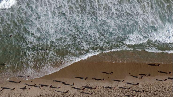 play a ball in Brazil  beach