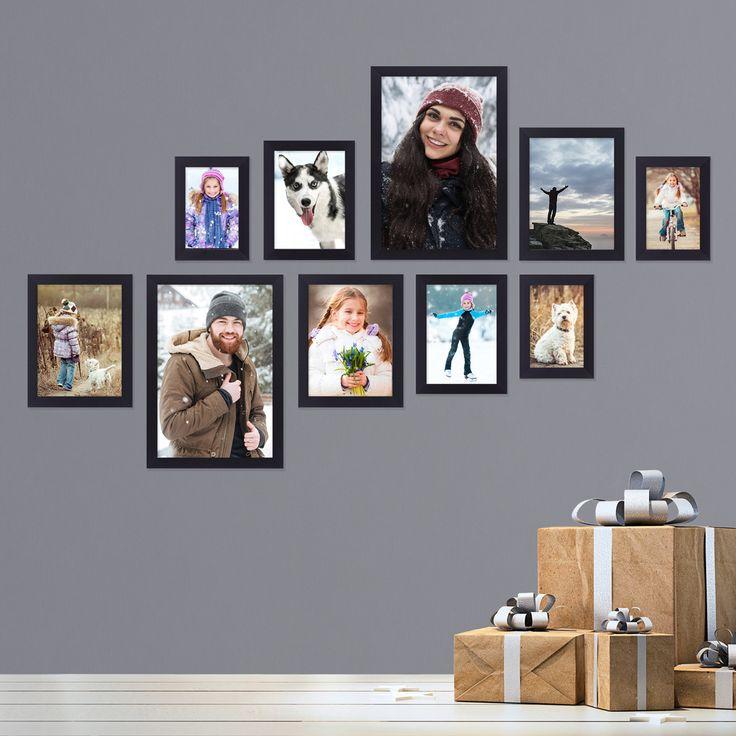 Verschenke deine schönsten Momente und Erinnerungen als Bilderwand. In der Photolini Basic Collection findest du passende Bilderrahmen-Sets aus MDF zum fairen Preis. Entdecke jetzt mehr!