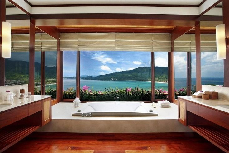 10 Fabulous Hotel Luxury Bathrooms With Sweeping Views To The Outside
