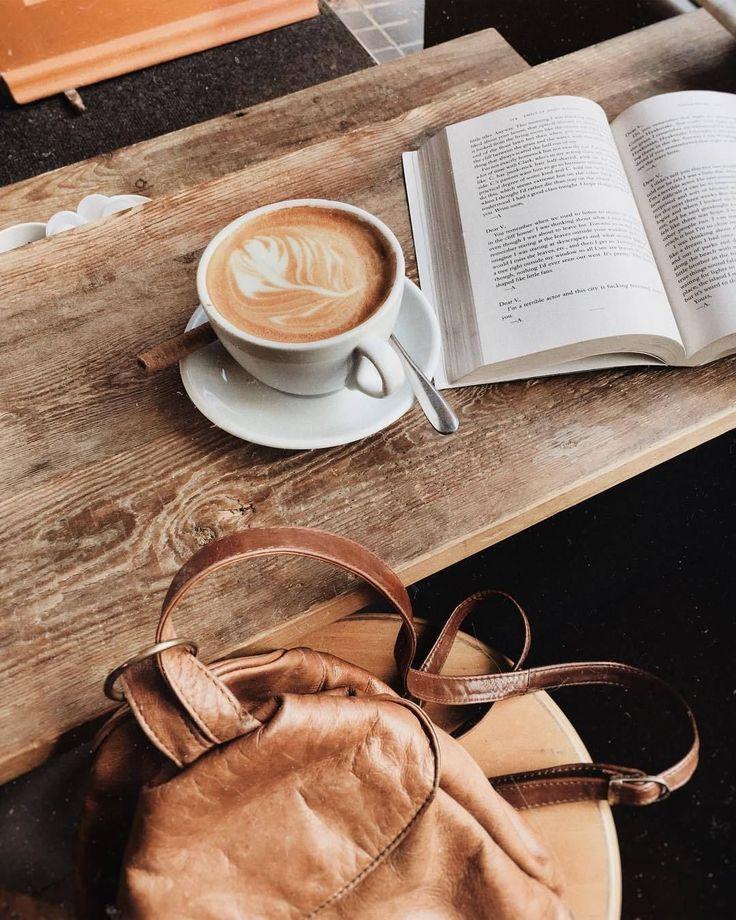 картинки кофе с книжкой работы