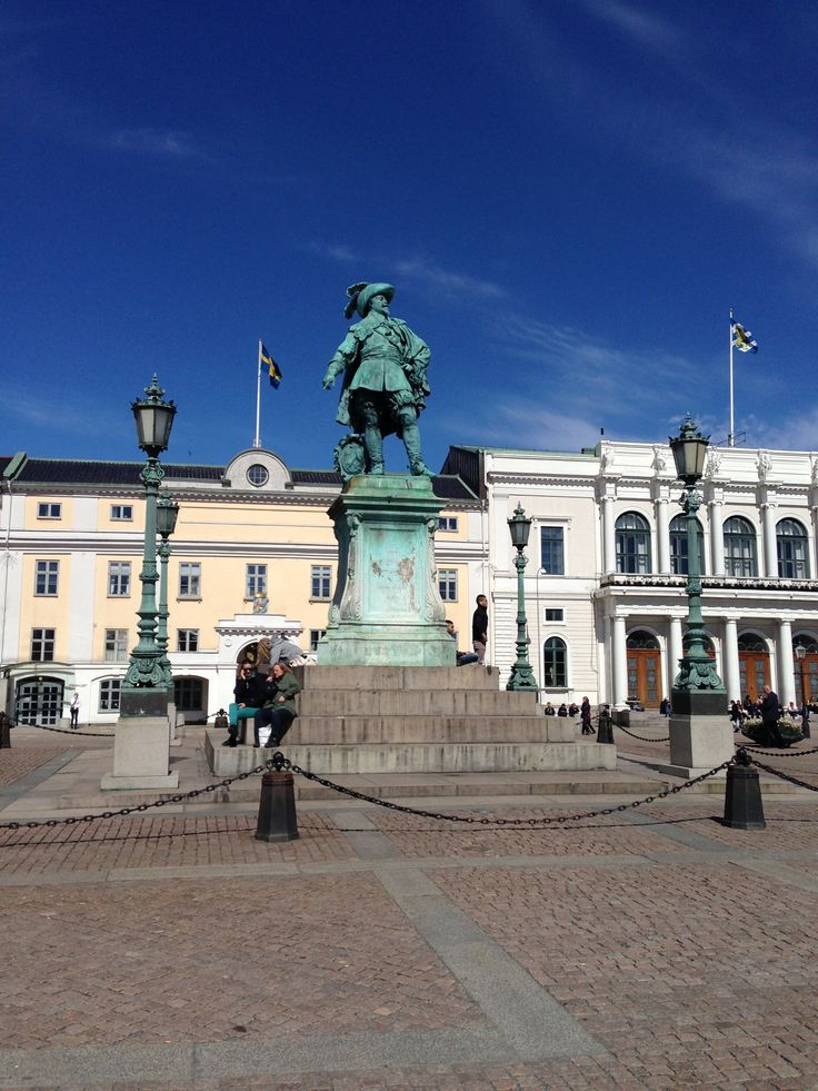 Gustaf Adolfs Torg in Göteborg, Västra Götalands län