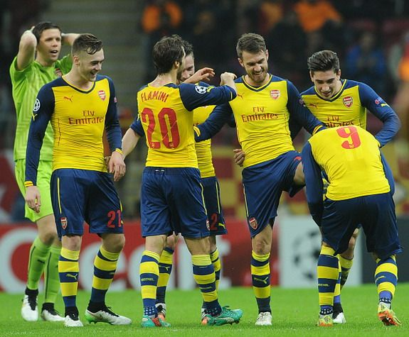 Goal of the day: Aaron Ramsey (Arsenal) vs Galatasaray