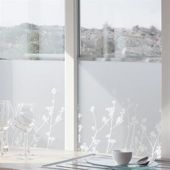 decorative window foil for privacy