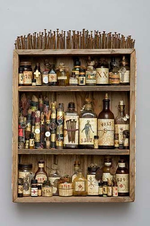 Something lovely to do with my growing bottle-collection.