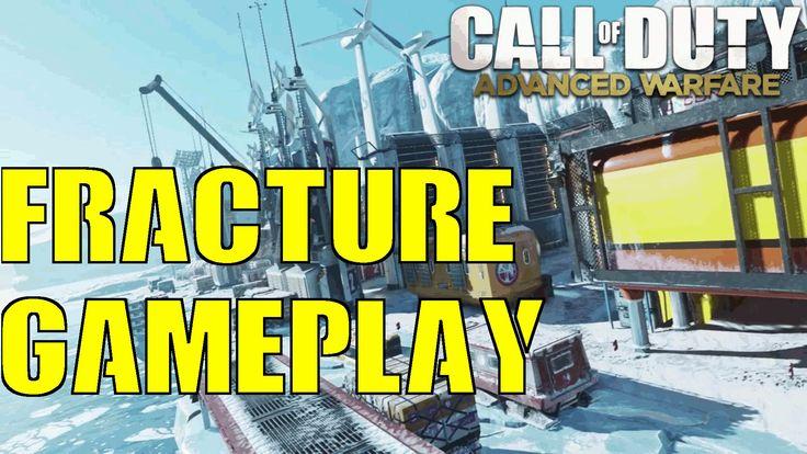COD Advanced Warfare Reckoning DLC 4 Fracture Gameplay