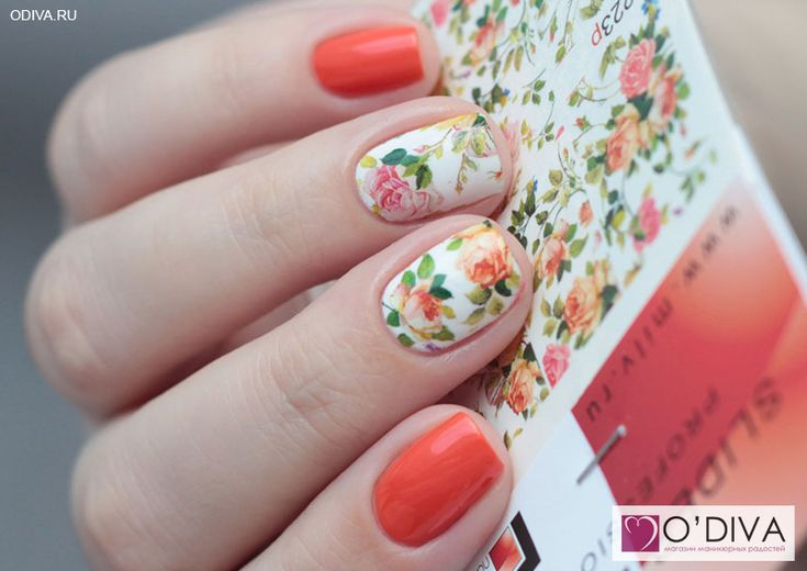 "Milv, слайдер-дизайн ""Цветы N223p"" http://odiva.ru/~vleal Milv, лак для ногтей (#30) http://odiva.ru/~qZR6Q  #milv #милв #водныенаклейки #наклейкидляногтей #слайдердизайн #наклейкинаногти #дизайнногтей #ногти #идеиманикюра"