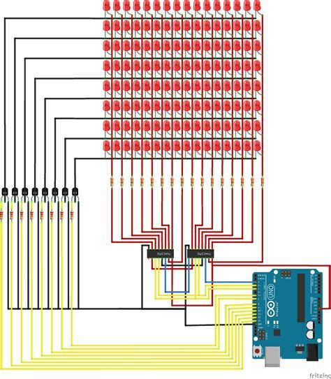 Surprising 88 Led Matrix Circuit Diagram New Led Matrix Wiring Diagram Of 88 Wiring Digital Resources Ntnesshebarightsorg