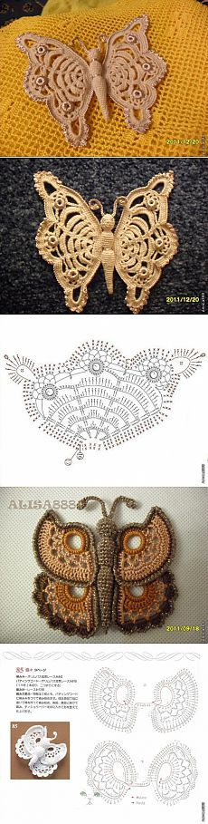 * ALICE * MY BUTTERFLY (with diagrams).