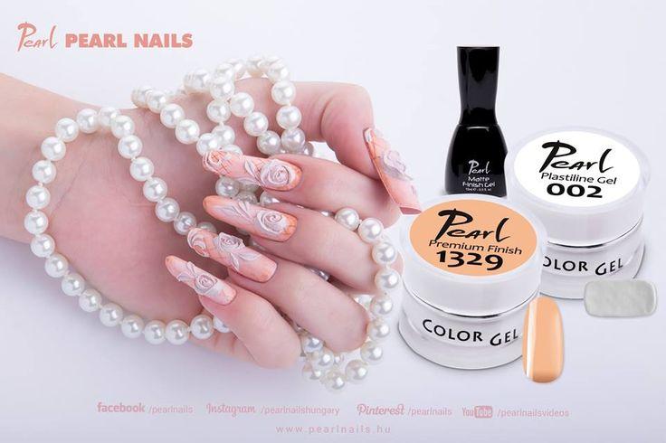 Kezdőknek és haladóknak is kiváló díszítésre a Plastiline zselé 16 színben! / For beginners or advanced nailtechs could be perfect the Plastiline Color gel in 16 new colours for decorating.  #pearlnails #colorgel #plastiline #gyurmazselé #plastilinegel #nailart #naildesign #csakapearlnails #ilovepearlnails