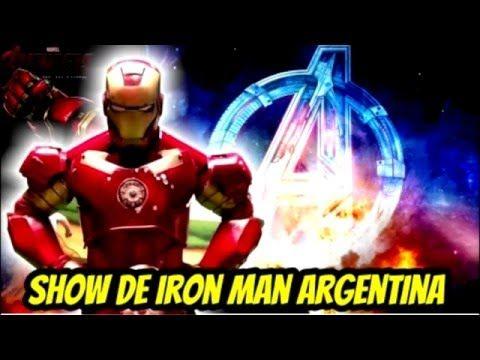 cumpleaños iron man argentina