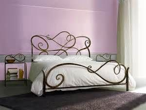 Wrought iron bed Bedroom - Price - Aura double bed by Letti Cosatto ...
