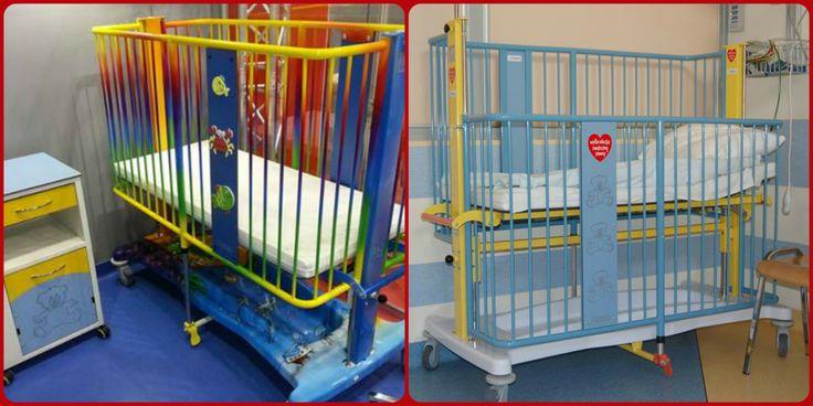 O to dwa typy łóżek, które trafiły do Warszawskiego Szpitala Dziecięcego przy Kopernika 43. Szpital wygrał w konkursie organizowanym przez firmę Formed,